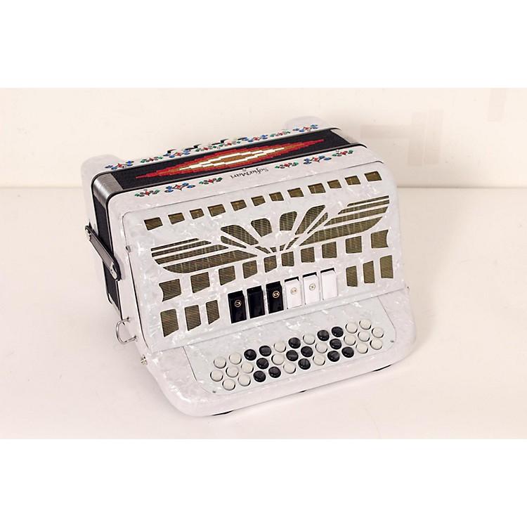 SofiaMariSMTT-3412, Two Tone AccordionWhite PearlFa/Mi