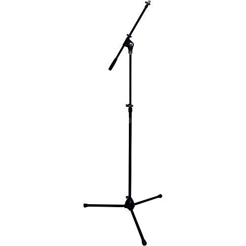 Peak Music Stands SMZ-20 Tripod Mic Stand Zinc Base and Telescoping Boom Black
