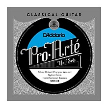D'Addario SNH-3B Pro-Arte Hard Tension Classical Guitar Strings Half Set