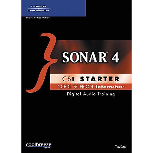 Course Technology PTR SONAR 4 Starter (CD-ROM)