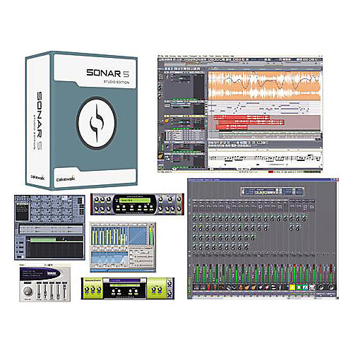 Cakewalk SONAR 5 Studio