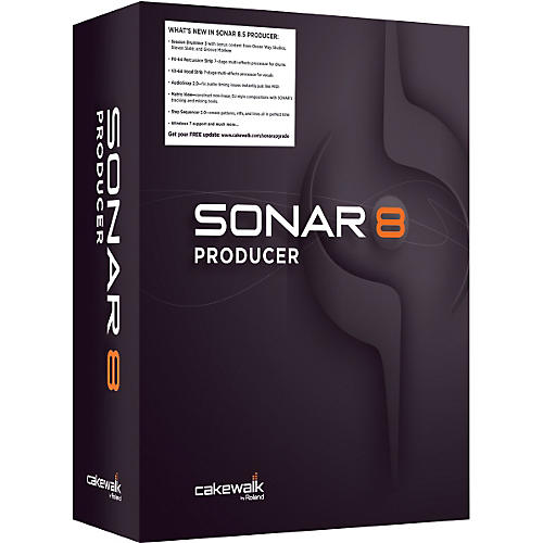 Cakewalk SONAR 8.5 Producer Upgrade for Cakewalk Users-thumbnail