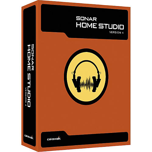Cakewalk SONAR Home Studio 4