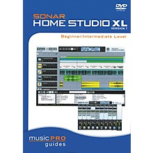 Hal Leonard SONAR Home Studio XL Version 7 - Beginner/Intermediate Level (DVD)