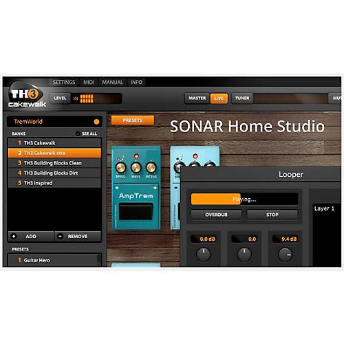 Cakewalk SONAR Home Studio