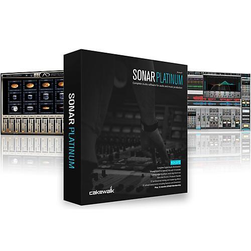 Cakewalk SONAR Platinum Upgrade from SONAR Home Studio-thumbnail