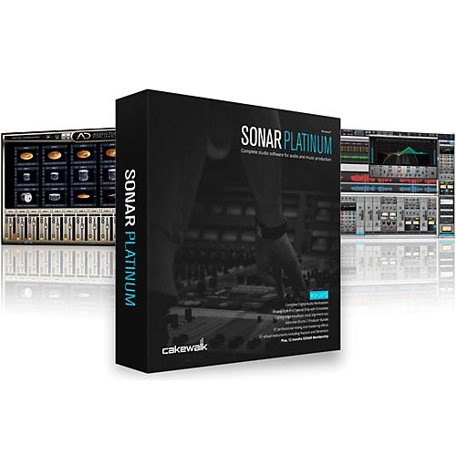 Cakewalk SONAR Platinum (with Lifetime Updates) Upgrade from SONAR Producer or SONAR Platinum