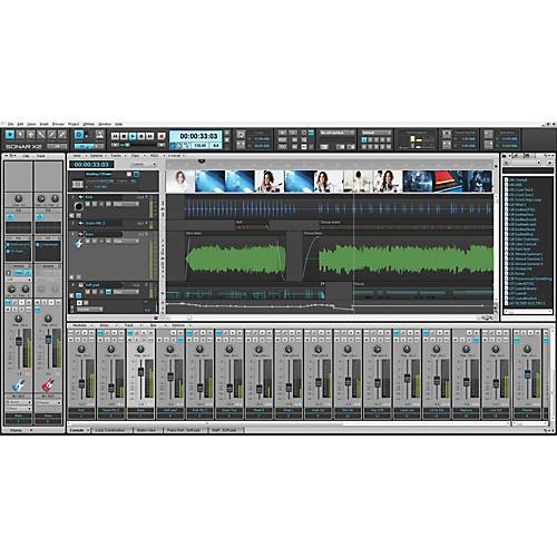 Cakewalk SONAR X2 Studio Software Download