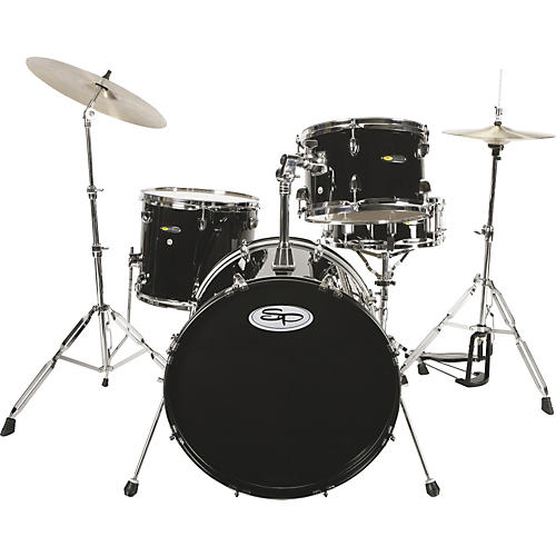 Sound Percussion Labs SP 4 Piece Drum Kit with Hardware