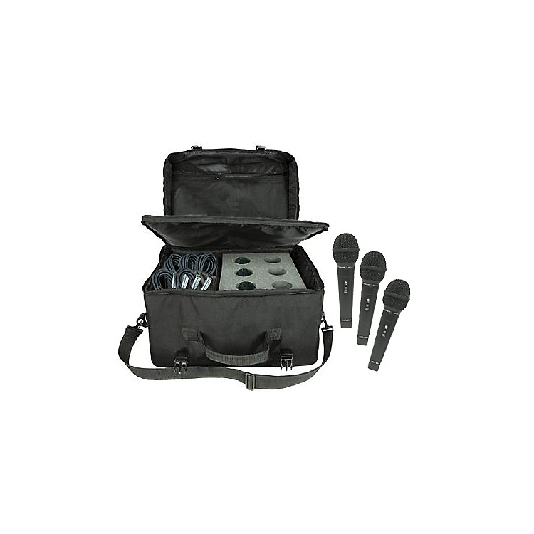 Nady SP-R3 Mic 6-Pack with Cables and Mic Bag
