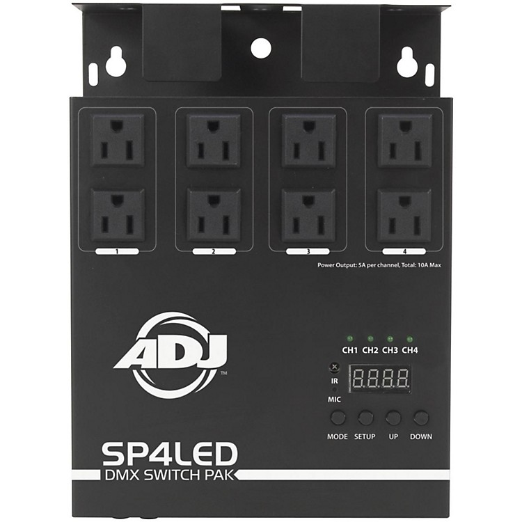 American DJ SP4LED DMX Switch Pack