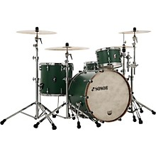 Sonor SQ1 3-Piece Shell Pack with 20 in. Bass Drum Roadster Green