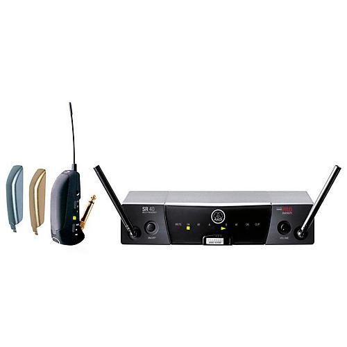 akg sr 40 flexx receiver with gb40 guitar bug transmitter musician 39 s friend. Black Bedroom Furniture Sets. Home Design Ideas