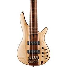 Ibanez SR1306E Premium 6-String Electric Bass Guitar Level 1 Natural
