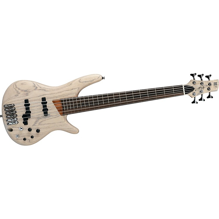 IbanezSR2010ASC Ashula Bass - Limited Edition Fretted/Fretless Hybrid 6-String Electric Bass