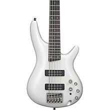 Ibanez SR305E 5-String Bass Pearl White
