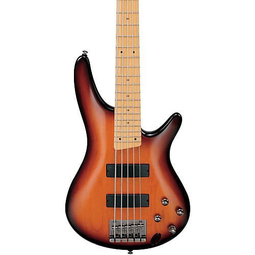 Ibanez SR375MBBT 5-String Electric Bass Guitar-thumbnail