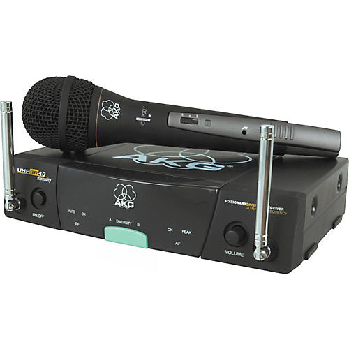 AKG SR40/900M Diversity Wireless System with TM40 Transmitter