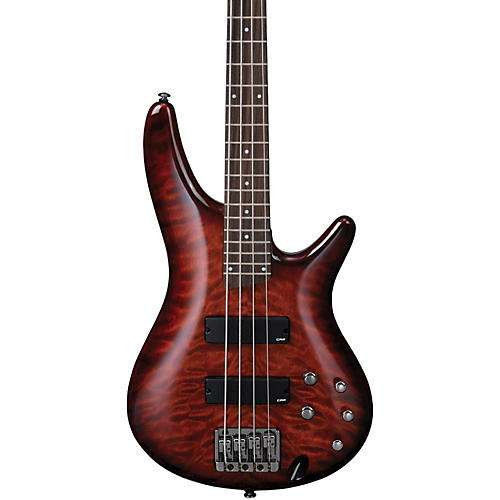 Ibanez SR400QM Soundgear Electric Bass Charcoal Brown