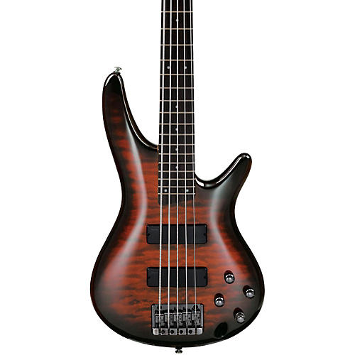 Ibanez SR405QM Soundgear 5-String Electric Bass-thumbnail