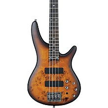 SR500PB 4-String Electric Bass Guitar Flat Brown Burst