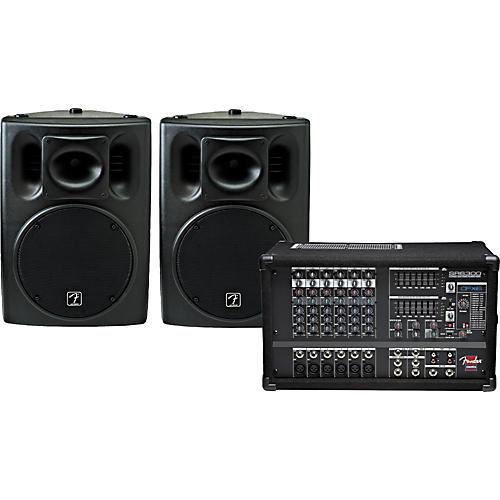 Fender SR6300 & Ace 2012 PA Package