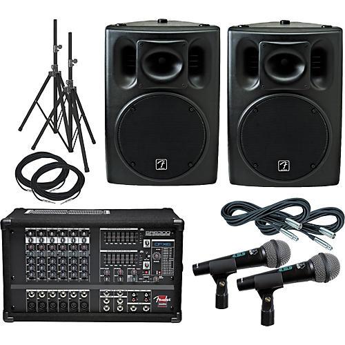 Fender SR6300 PA Package