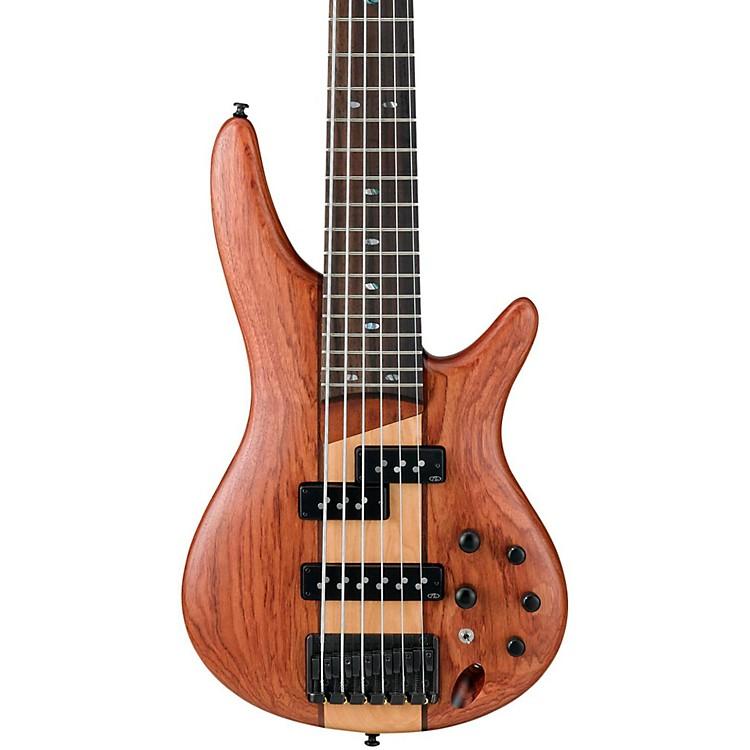 ibanez sr756 6 string electric bass guitar flat natural musician 39 s friend. Black Bedroom Furniture Sets. Home Design Ideas