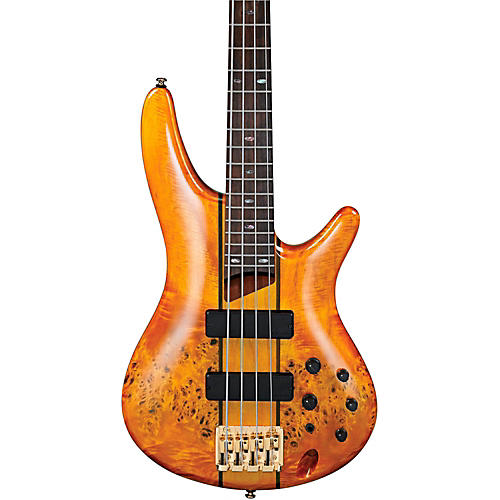 Ibanez SR800 4-String Electric Bass Amber