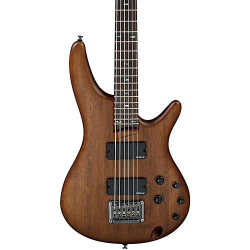 ibanez src6 crossover 6 string electric bass flat walnut musician 39 s friend. Black Bedroom Furniture Sets. Home Design Ideas