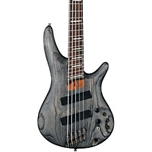 Ibanez SRFF805 Multi-scale 5-String Electric Bass Guitar Level 1 Satin Black