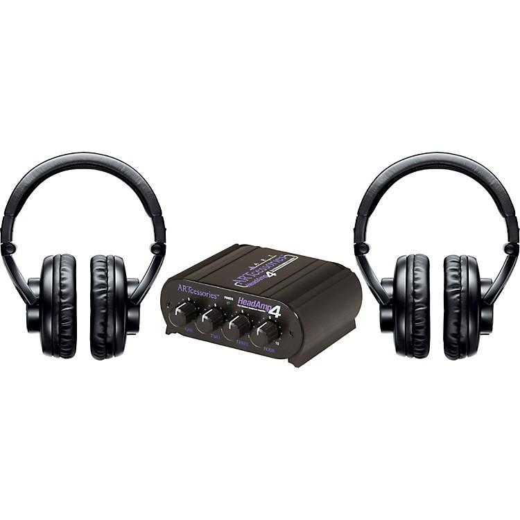 ShureSRH440 Two Pack w/ HeadAMP 4 Headphone Amp