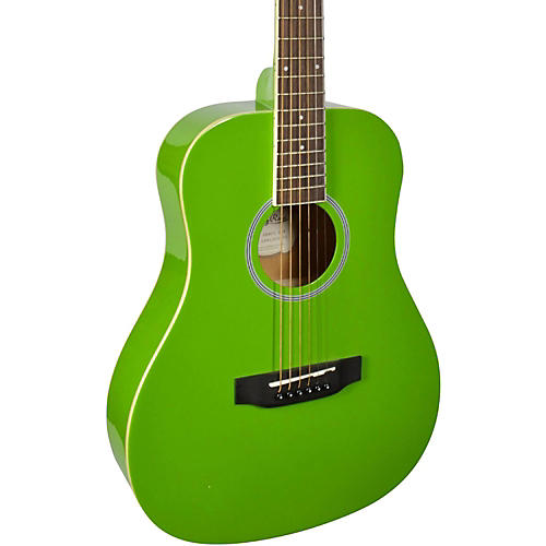 Stony River SRMD1 1/2 Size Mini Dreadnought Acoustic Guitar Green