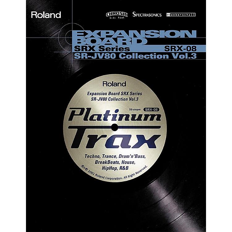 RolandSRX-08 Platinum Trax Expansion Board
