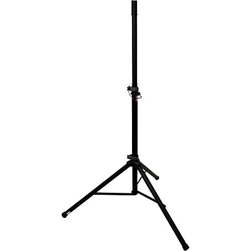 Peak Music Stands SS-20 Aluminum Speaker Stand with Safety Pin Black
