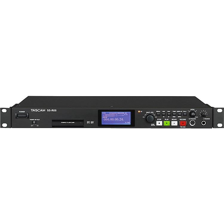 TASCAMSS-R05 Solid State and CD Stereo Audio Recorder