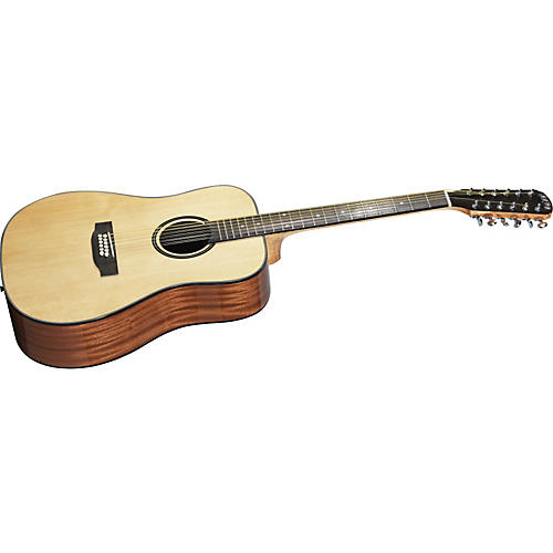 Great Divide SSD-12 Dreadnought Solid Sitka Spruce Top 12-String Acoustic Guitar