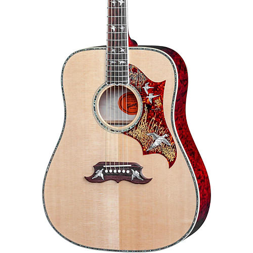 Gibson SSDFQCGH1 Dove-In-Flight Quilt Acoustic Guitar