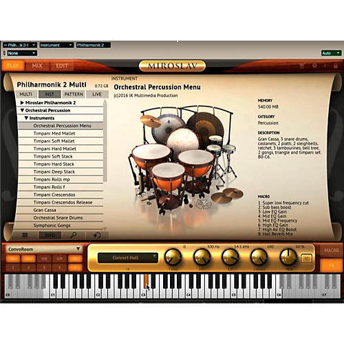 IK Multimedia ST3 Orchestral Percussion-thumbnail