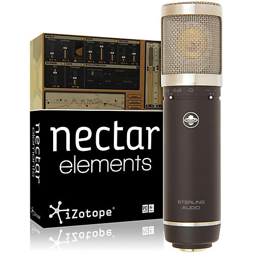 Sterling Audio ST55 Mic with Nectar Elements Bundle-thumbnail