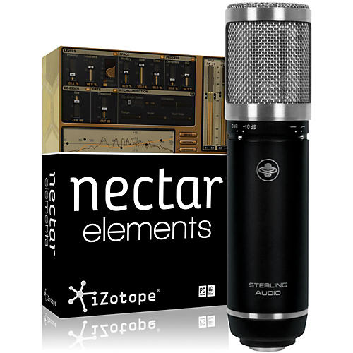 Sterling Audio ST59 Mic with Nectar Elements Bundle