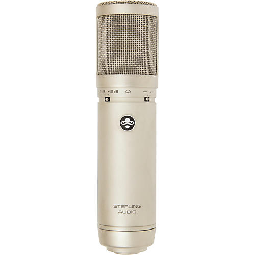 Sterling Audio ST66 Large Diaphragm Tube Condenser Microphone