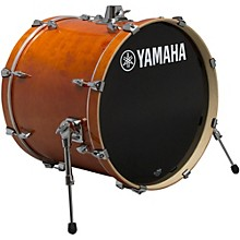Yamaha STAGE SBB 2017NW CUSTOM BIRCH BASS DRUM 20X17 IN NATURAL WOOD 20 x 17 in. Honey Amber