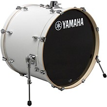 Yamaha STAGE SBB 2017NW CUSTOM BIRCH BASS DRUM 20X17 IN NATURAL WOOD 22 x 17 in. Pure White