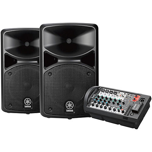 yamaha stagepas 400bt portable pa system with bluetooth. Black Bedroom Furniture Sets. Home Design Ideas