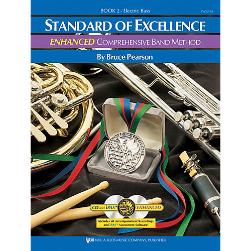 KJOS STANDARD OF EXCELLENCE BOOK 2 ENHANCED ELECTRIC BASS GUITAR