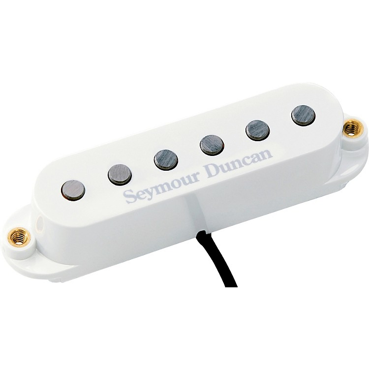 Seymour Duncan STK-S4b Classic Stack Plus bridge White Bridge