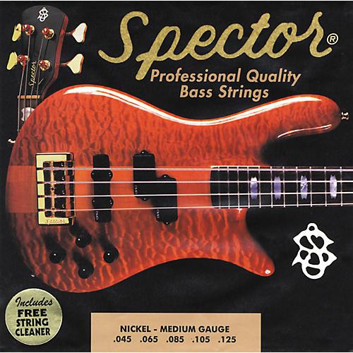 Spector STNI45-130 5-String Nickel Medium Bass Strings-thumbnail