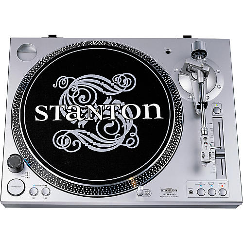 Stanton STR8-80+520SK Direct-Drive Turntable with Digital Out