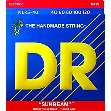 DR Strings SUNBEAM  Nickel Plated 5-String Bass Strings Lite (40-120)